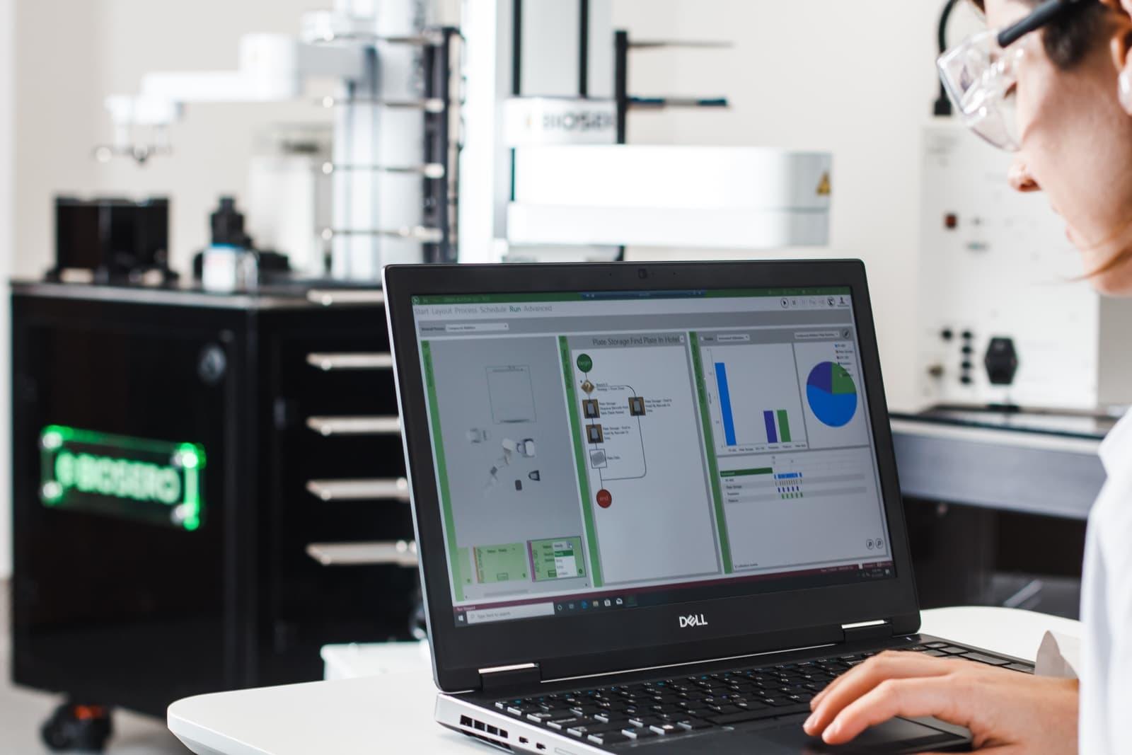 Biosero Acceleration Lab 3 Green Button Go