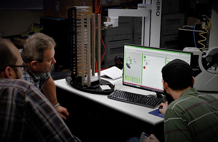 Biosero employees working