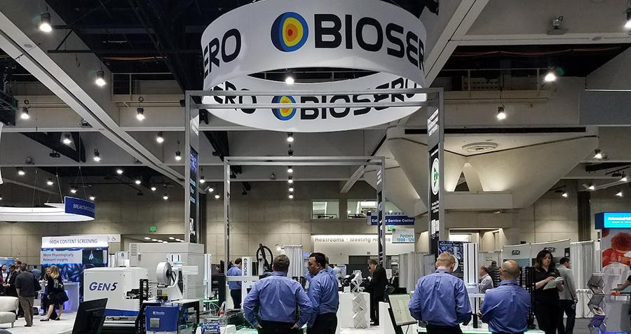 Biosero event booth